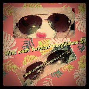 Nine west Aviator sunglasses